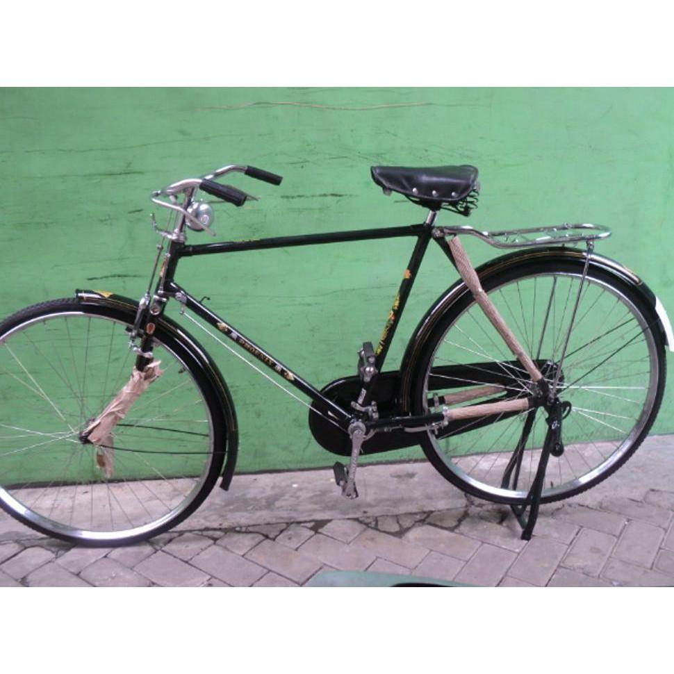 Grosir Sepeda Onthel Phoenix Baru Model Laki Heren Warna Hijau Tua Shopee Indonesia