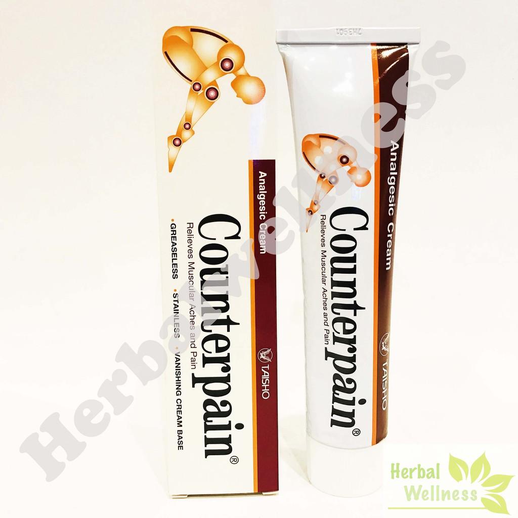 Counterpain 120gr Shopee Indonesia Hot Cream Taisho