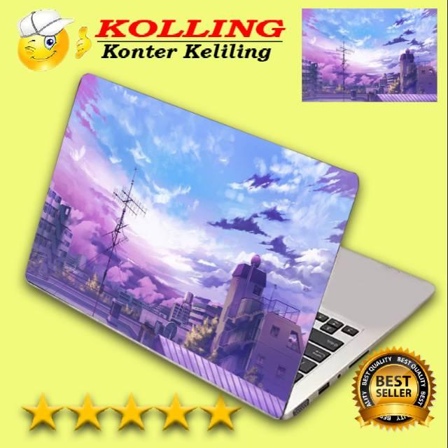 Garskin Laptop Wallpaper Aesthetic Pemandangan Kota Skin Laptop Stiker Laptop Shopee Indonesia