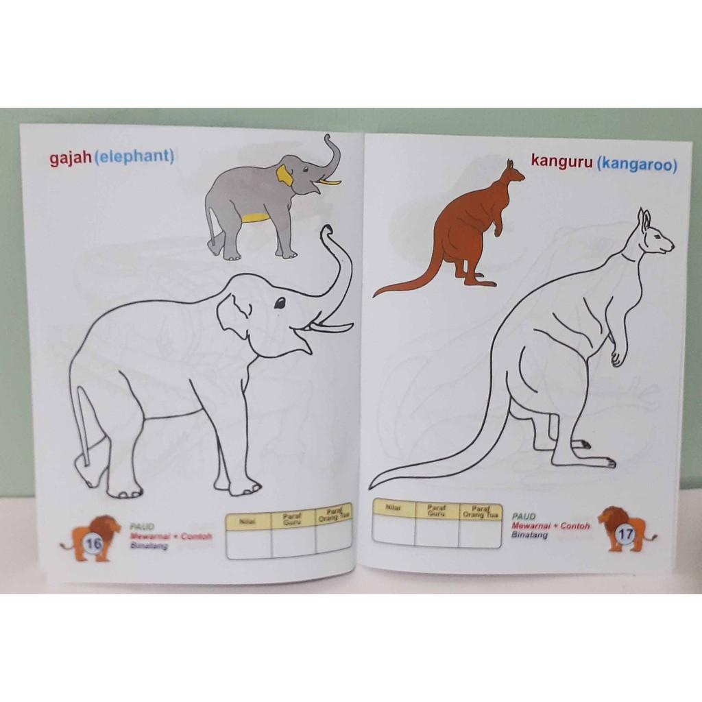 Buku Mewarnai Untuk TK Dan PAUD