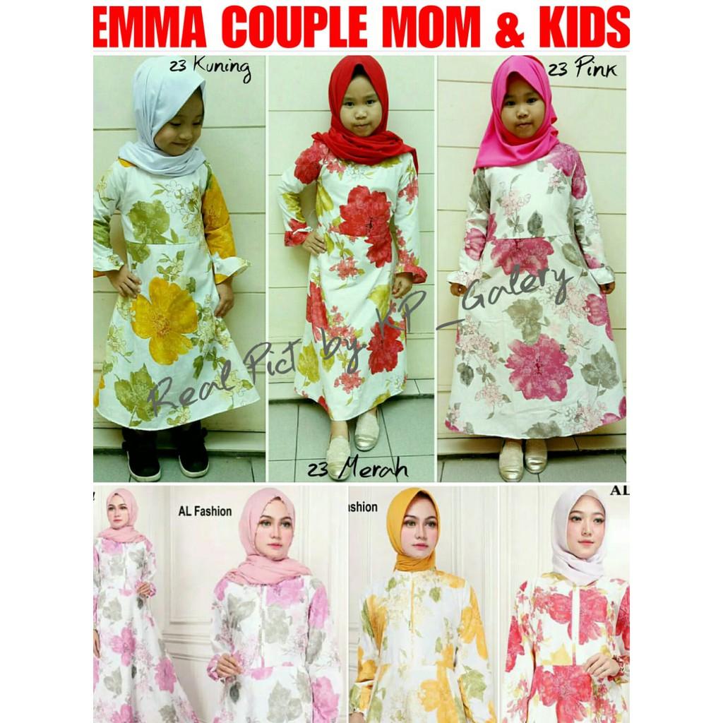 Kp Fit To L Maxi Emma Syari Pakaian Muslim Wanita Shopee Indonesia 23 Baju Gamia Model Kekinian