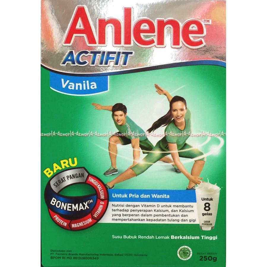 Anlene Actifit Plain 900gr Daftar Harga Terkini Dan Terlengkap Susu Coklat Vanila 250gr Untuk Usia 25 30tahun Vanilla Shopee Indonesia