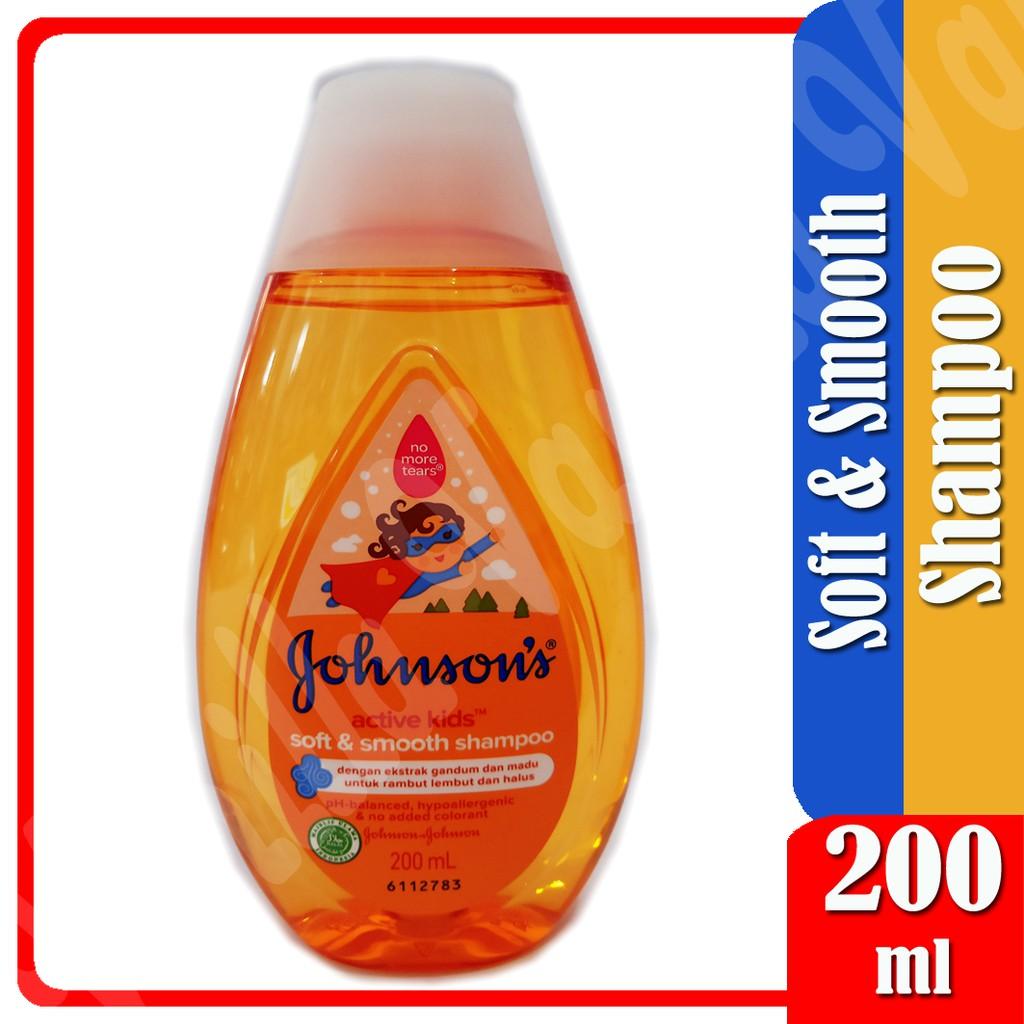 JOHNSON'S Baby Shampoo 200ml Shampo Bayi dan Anak-Soft & Smooth