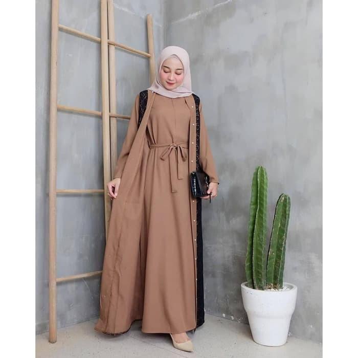 Grosi Fashion Terbaru Gamis Remaja Modern Terbaru 2020 Tartan Maxi Gamis Kekinian Model Bagu 43kfh Shopee Indonesia