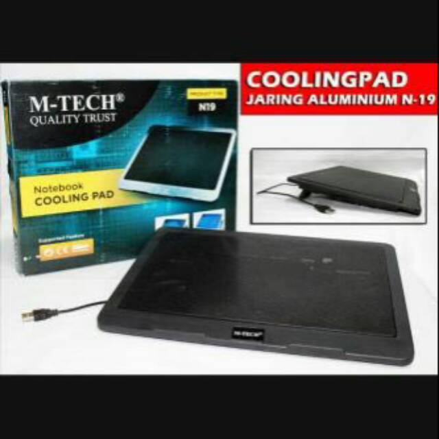 Coolingpad Jaring Alumunium N19/cooler Fan N19/usb kipas laptop N19   Shopee Indonesia