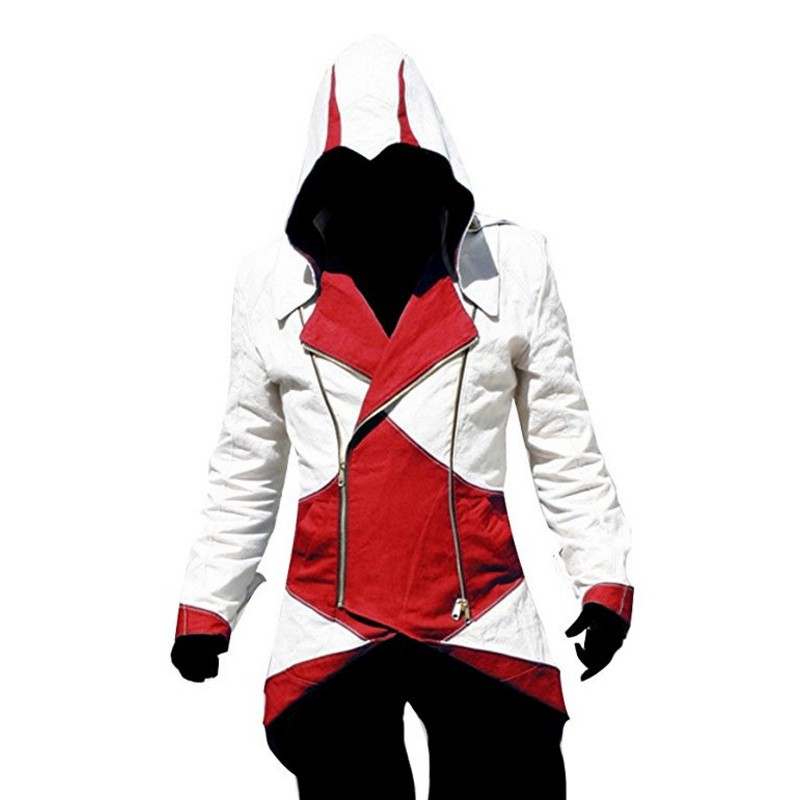Jaket Hoodie Assassins Creed 3 Iii Assassins Creed Shopee Indonesia