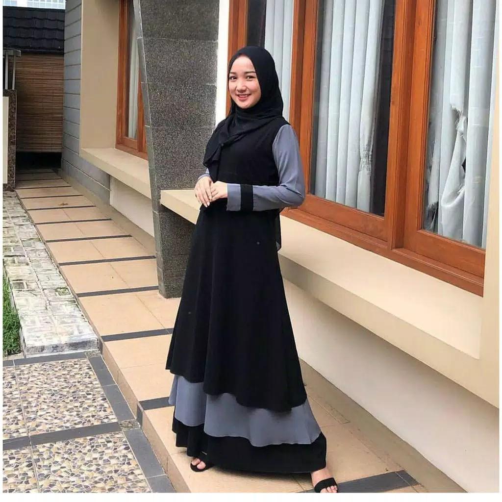 Harga Gamis Kekinian Terbaik Dress Pakaian Wanita April 2021 Shopee Indonesia