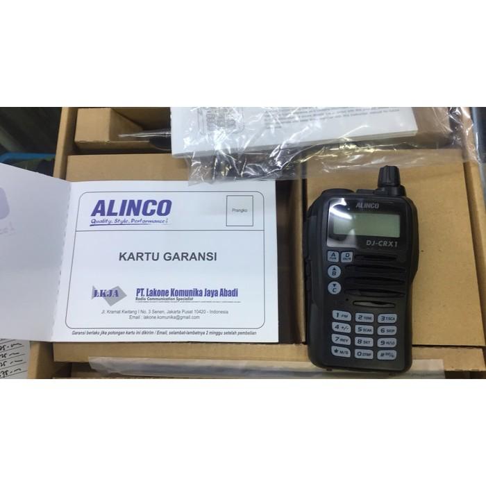 BEST SELLER! HT ALINCO DJ-CRX1 VHF GARANSI RESMI
