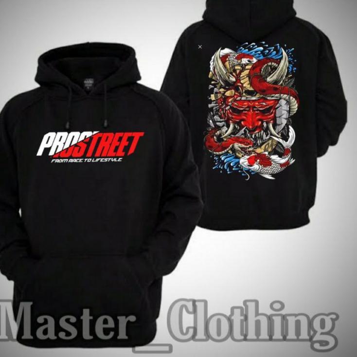 Best Produk ♥ Hoodie Jaket Sweater PROSTREET THE LAST KOHAKU Keren Sekali  () JK