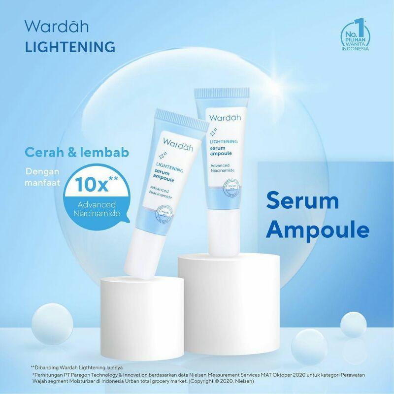 Wardah Lightening Facial Serum Serum Wardah Lightening 5x5ml Shopee Indonesia