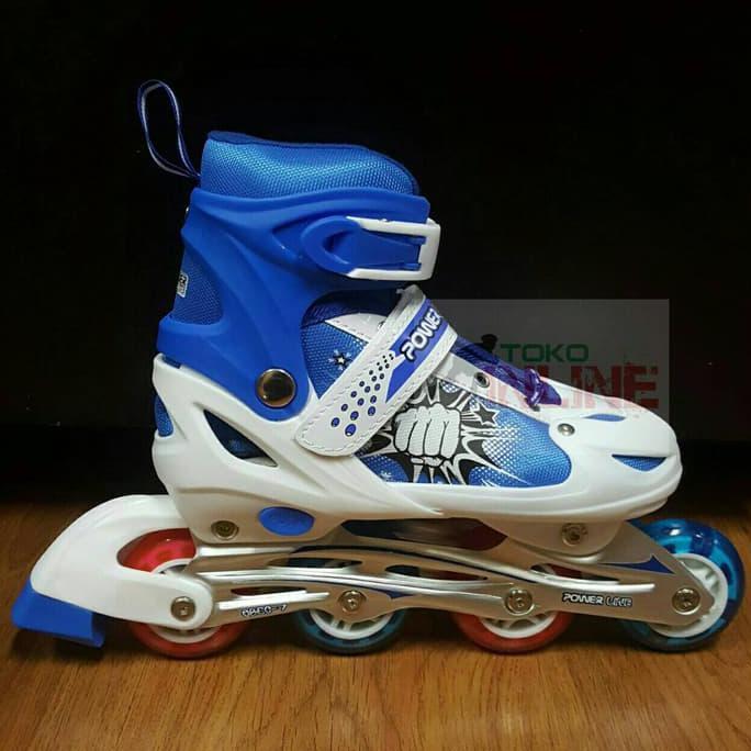 SR254 Sepatu Roda Anak Inline Skate Murah Power Line PL 6036 - Ungu ... 6f6f096da5