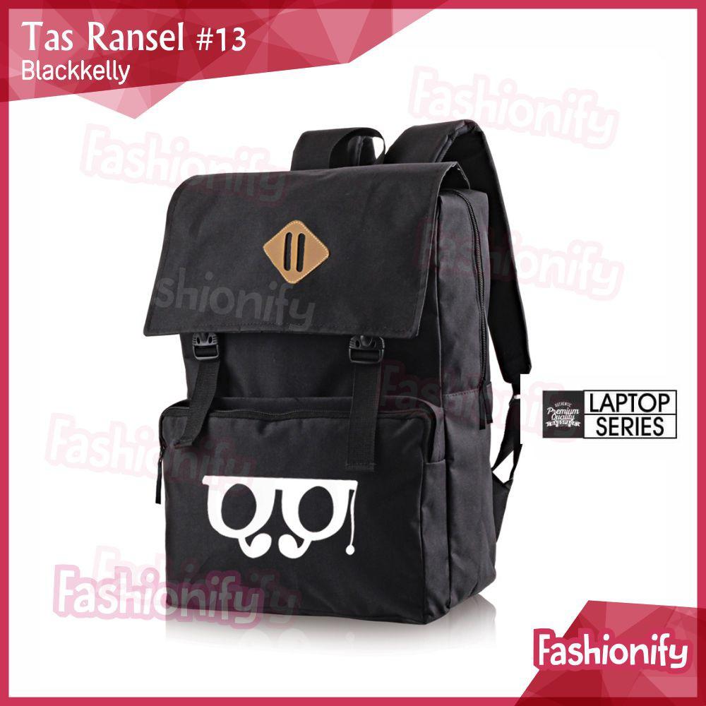Tas Ransel Laptop / Backpack Casual Unisex Pria Wanita - ST 045   Catenzo   Shopee Indonesia
