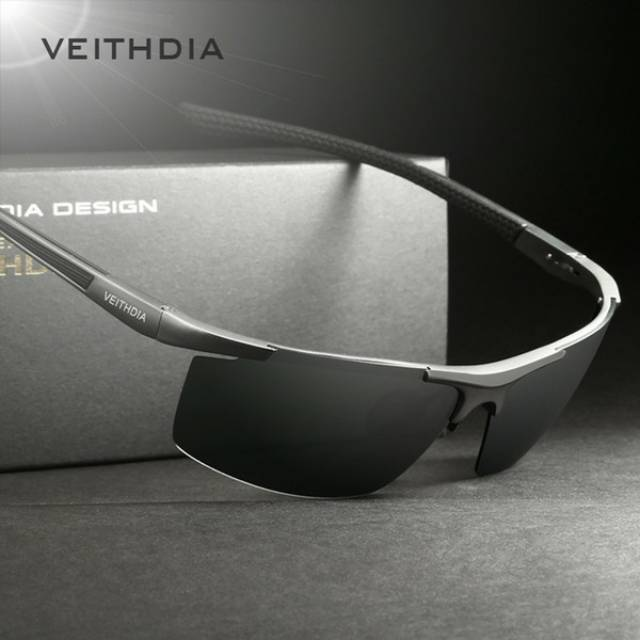 Kacamata Veithdia Pria UV Polarized - 6588 KUNING  8123fb0374