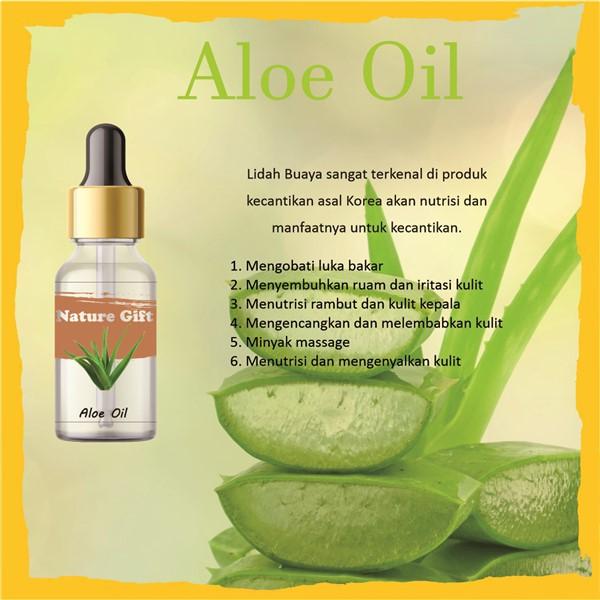 Pure Aloe Vera Oil Minyak Lidah Buaya Murni Shopee Indonesia