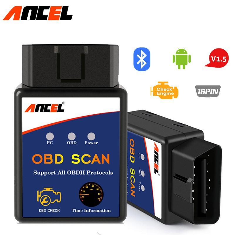 ELM327 V1.5 OBD2 Bluetooth Diagnostic Scanner Car code Reader tool for Android