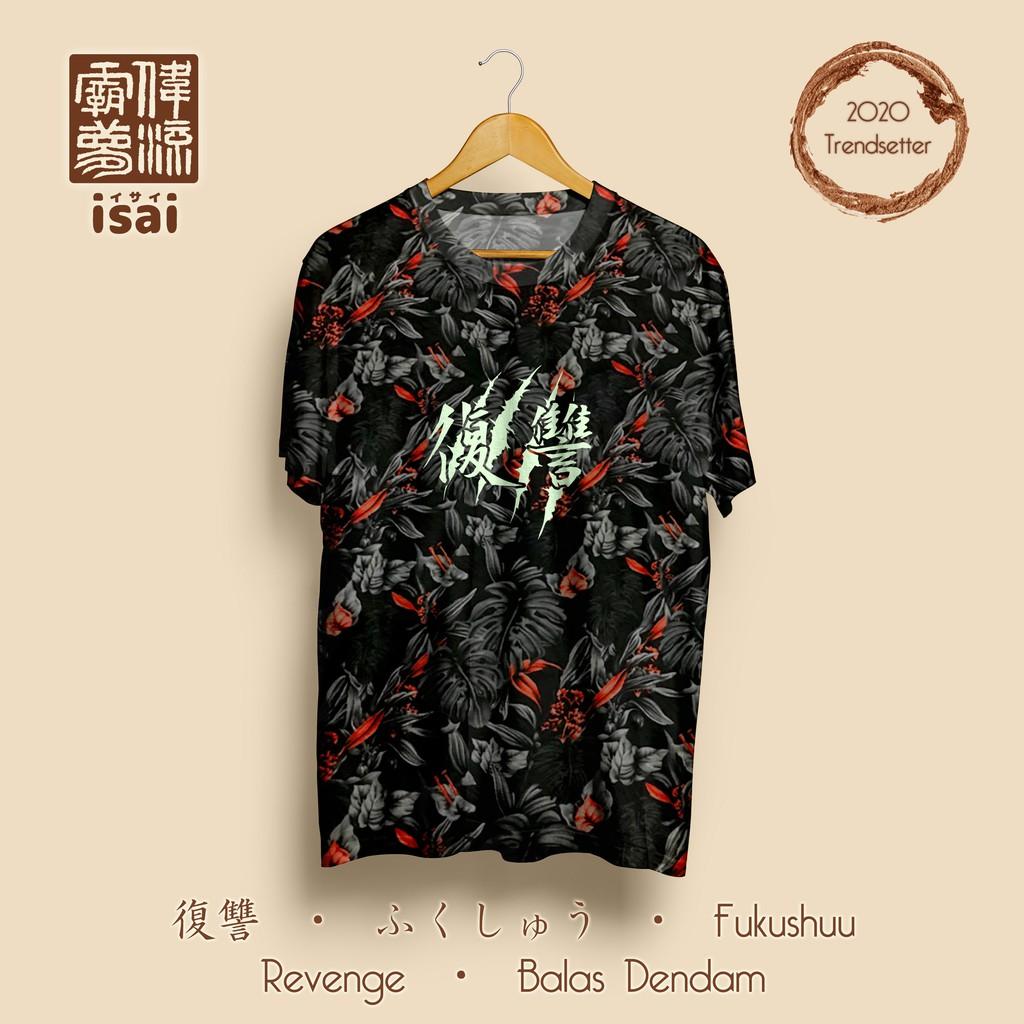 Revenge / GLOW / Urban Batik / Unisex / Kaos Jepang ...