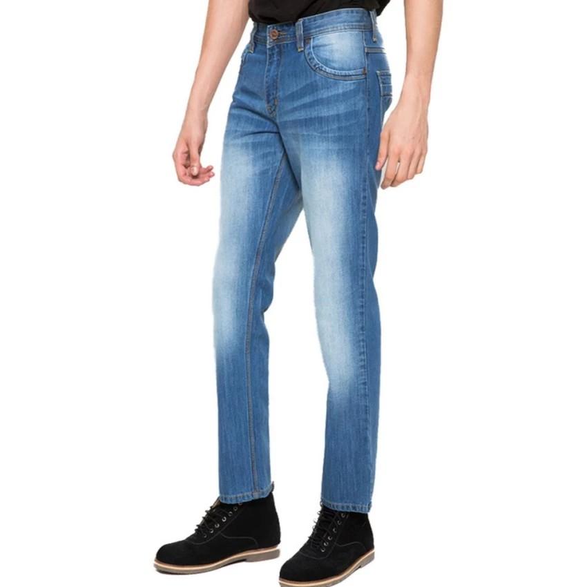 2Nd RED Celana Jeans Skinny Premium Kualitas Slim Fit Jeans Soft Biru Muda 233282 | Shopee