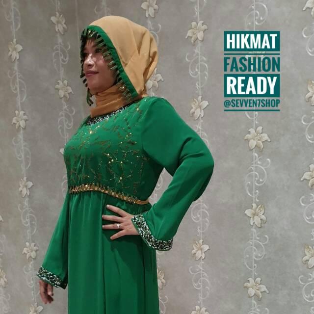 Abaya Hikmat Fashion / Gamis Hikmat