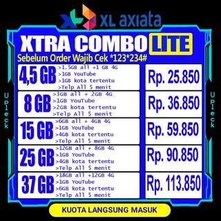 [ MURAH ] KUOTA XL COMBO LITE INJECT XTRA COMBO LITE