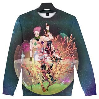 Sweater Kaos Hoodie Pria Wanita Motif Print Karakter Anime Hunter X Hunter Hisoka 3d Shopee Indonesia