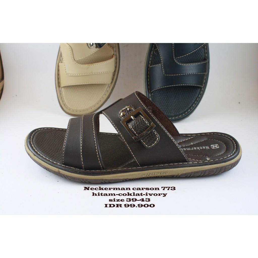 Neckerman Dayton 522 Sandal Pria Brown Shopee Indonesia Neckermann Lv 9356 Ivory Terlengkap