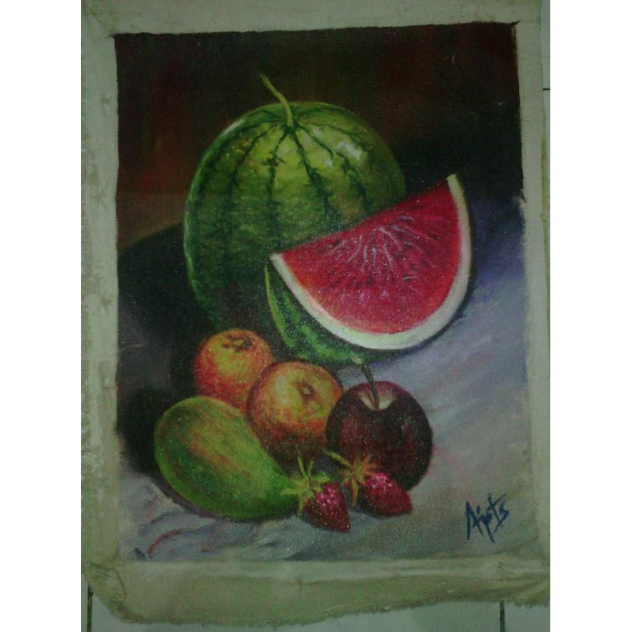 88 Gambar Lukisan Durian Paling Keren