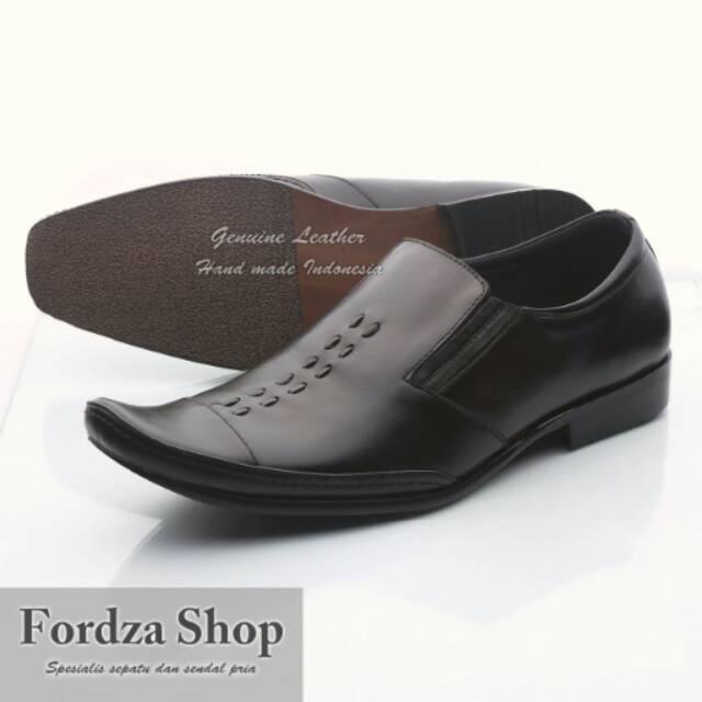 Sepatu Pantofel Pria 100% Kulit Sapi Premium untuk Kantor Kerja Pesta 902HT   cef9dbeb99