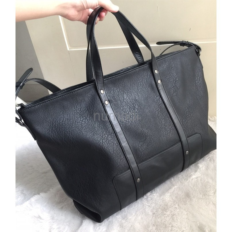 e7453c154c Tas Tote Handbag Murah Zara Leather Original Best Seller | Shopee Indonesia