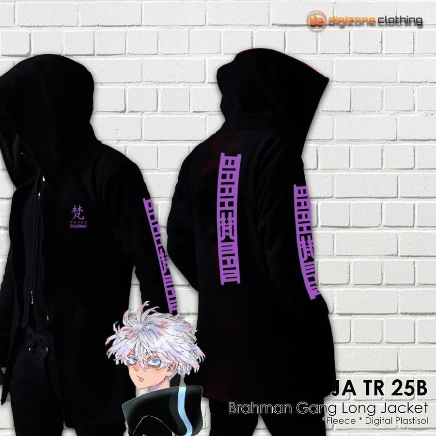 Jaket Tokyo Revengers Anime Geng Brahman Cosplay Jubah JA TR 25