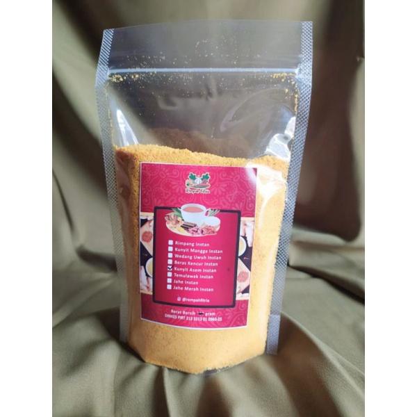 Refill Jamu Kunyit Asam Rempahfitria 250 gr
