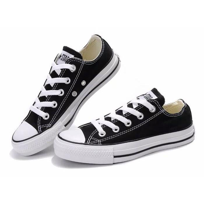 Sepatu Converse All Star Chuck Taylor 2 Mono   Full Black Hitam Low - Grade  Ori 940245c4f9