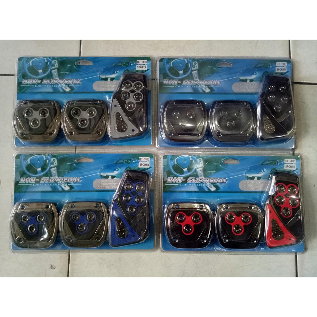 Pedal Mobil / Pedal Gas Mobil Manual Import Sport PS-01 - Silver | Shopee Indonesia