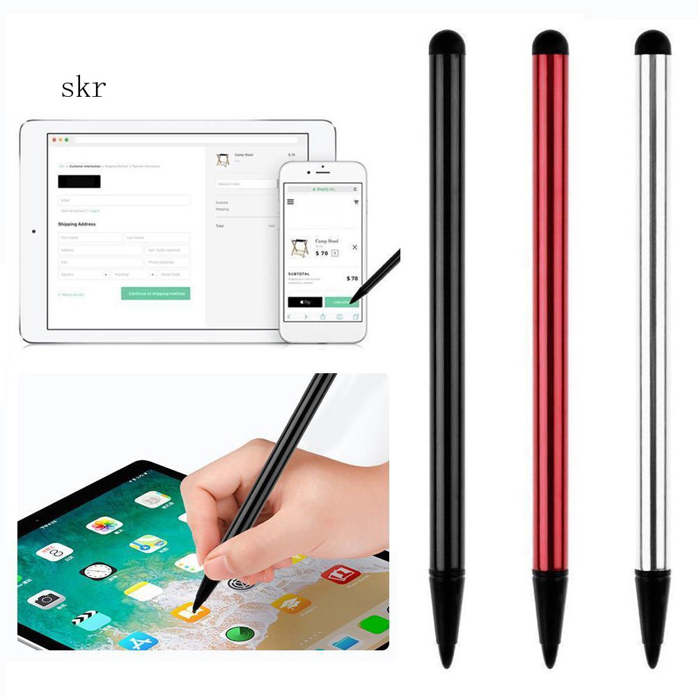 2X Metal Universal Stylus Pen Touch Screen For Tablet Mobile Phone iPad iPod PC