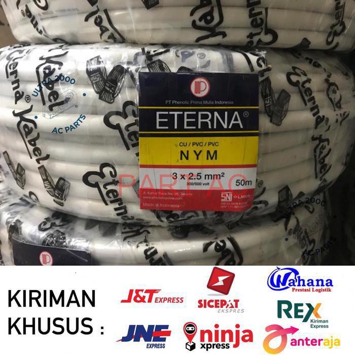 Part/ sparepart Kabel NYM ETERNA 3 x 2-5 50M/ETERNA CABLE 3x2.5/NYM ETERNA 3x2.5