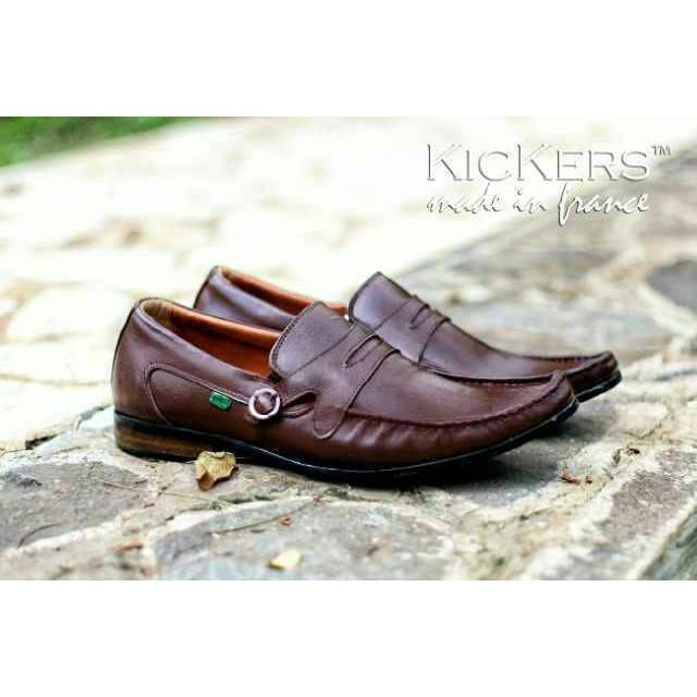 Sepatu Kickers Swing Sepatu Pantofell Pria Kerja Kantoran