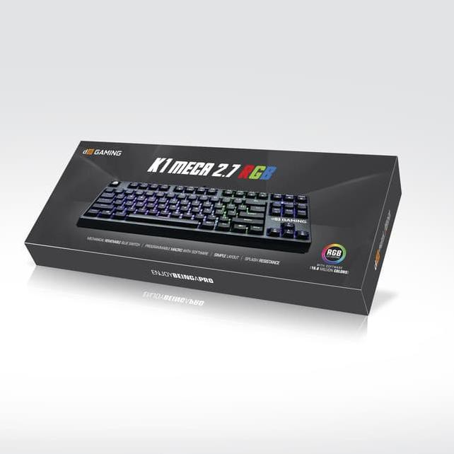 5b43abb3ab6 ... Star Seller Digital Alliance GAMING KEYBOARD K1 MECA 2.7 RGB % ...