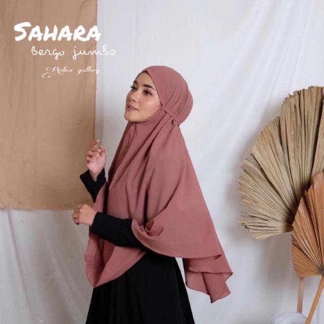 Sahara Bergo Jumbo Diamond Shopee Indonesia