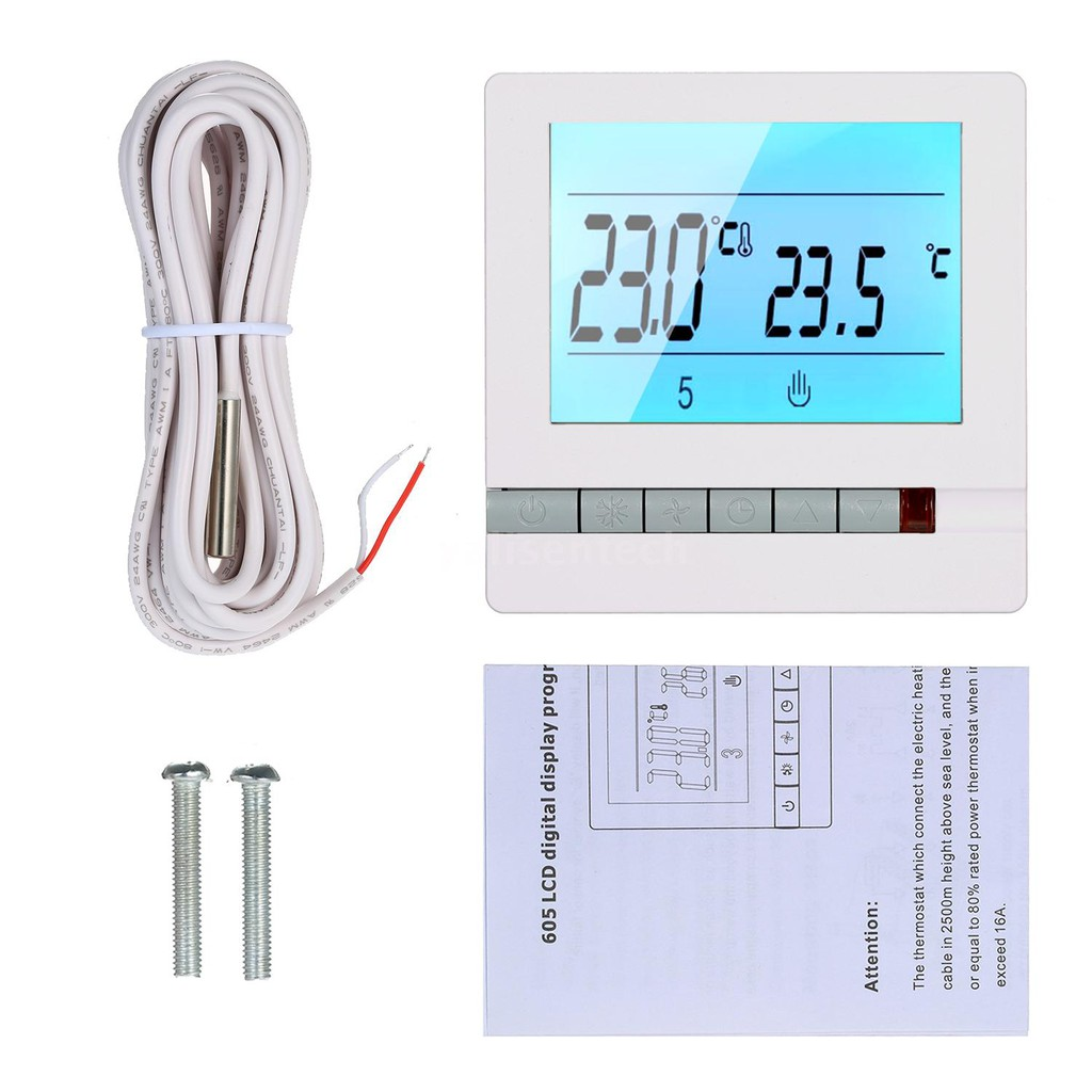 Thermostat 12V  DC  heating film controller underfloor heater 10A