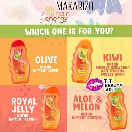 Makarizo Hair Energy Fibertherapy Conditioning Shampoo 170ml   330ml