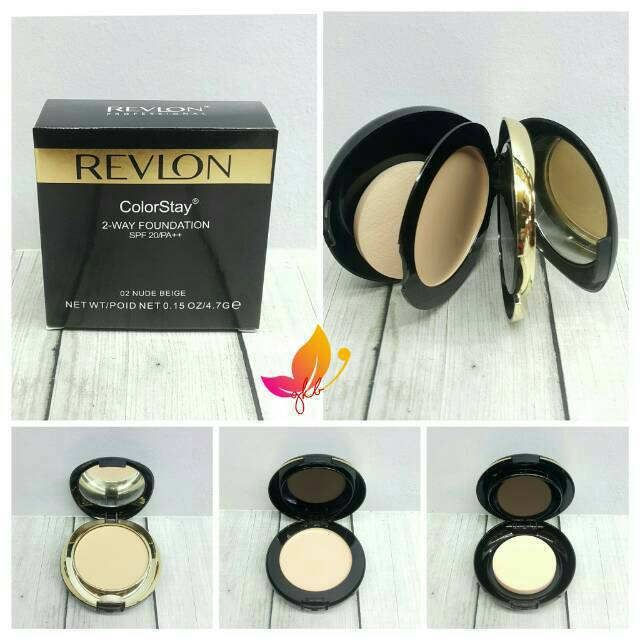 Bedak REVLON colorstay 2 way foundation - BEDAK REVLON 2 in 1 | Shopee Indonesia