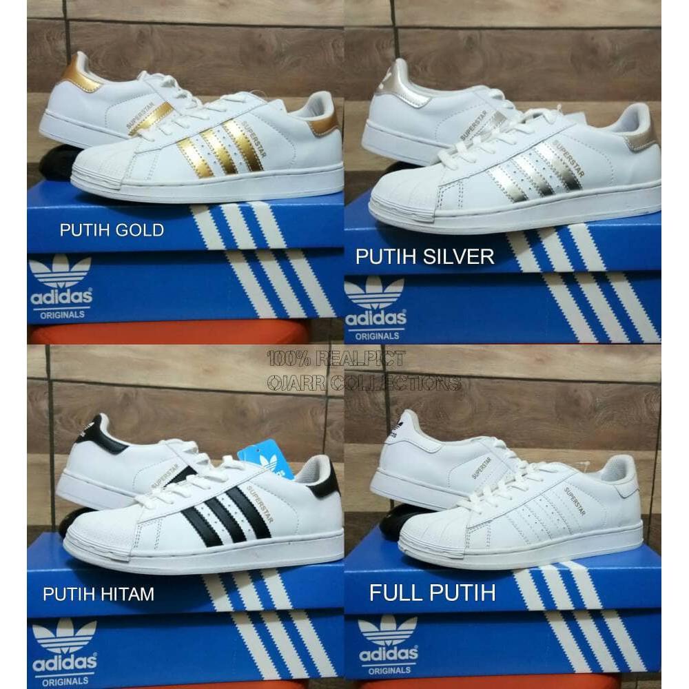 Sepatu Kets Adidas Superstar Putih Grade Ori + box  5ebc040781