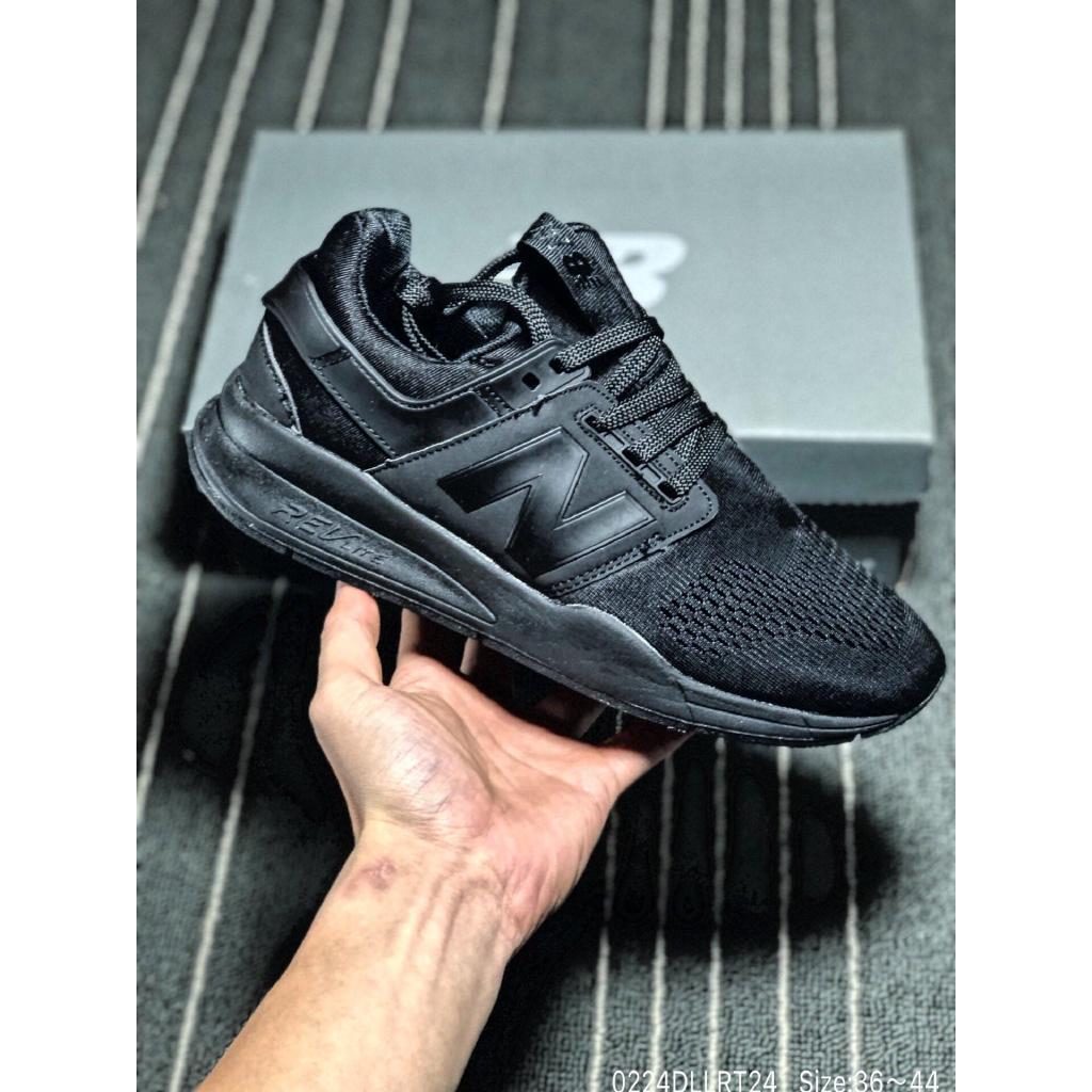 beiqiangz.id Sepatu Sneakers Bertali Desain New Balance 247 Bahan Mesh Breathable untuk Pria / Wanita