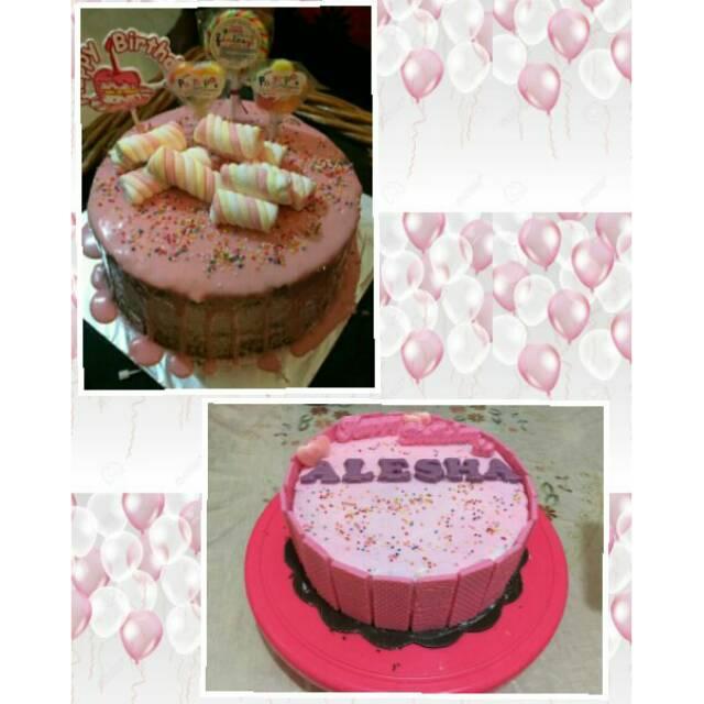 Kue Ulang Tahun Kekinian Untuk Anakdewasa Model Simple Cake Lucu Dan Enak