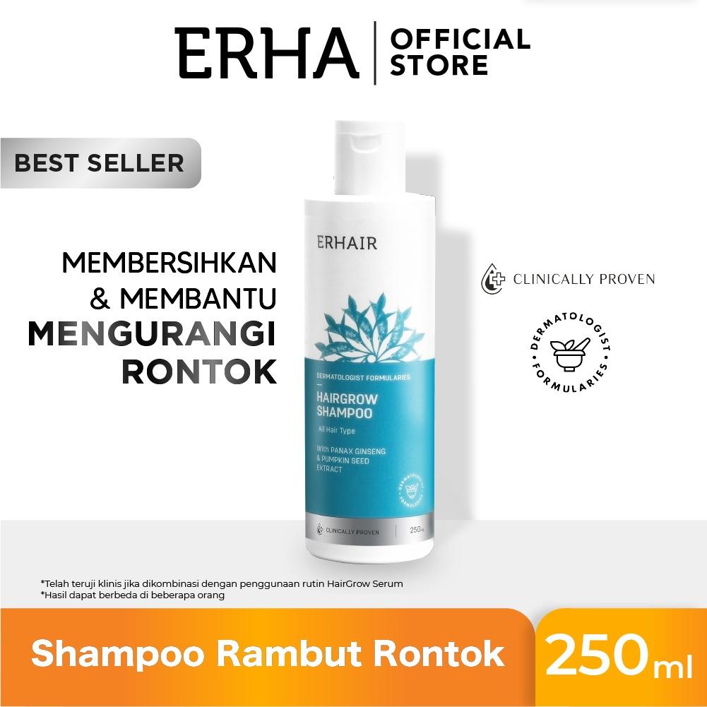 ERHA VP ERHAIR Hairgrow Shampoo 250ml & Tonic - Sampo & Tonik Anti Rambut Rontok-1