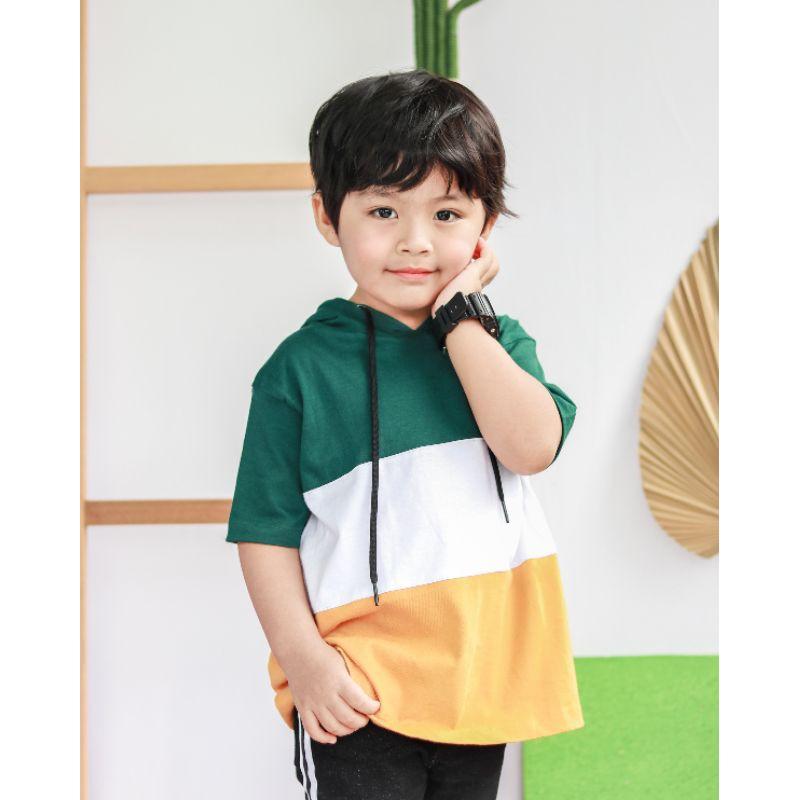 Little dude kaos anak hoodie anak
