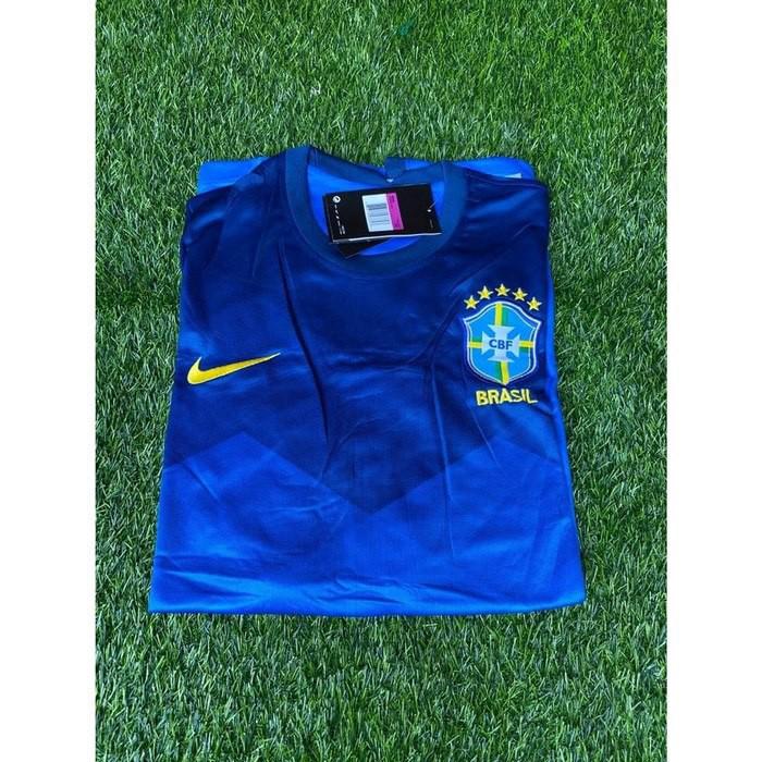 Jersey Bola Brazil Away Xxl 2020 2021 Shopee Indonesia