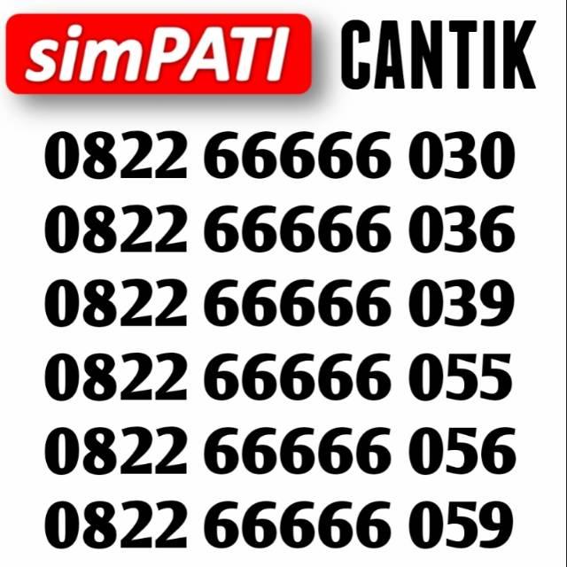 085234566xxx Perdana nomor cantik telkomsel kartu as urut naik 234567 ekor 527 10 | Shopee Indonesia