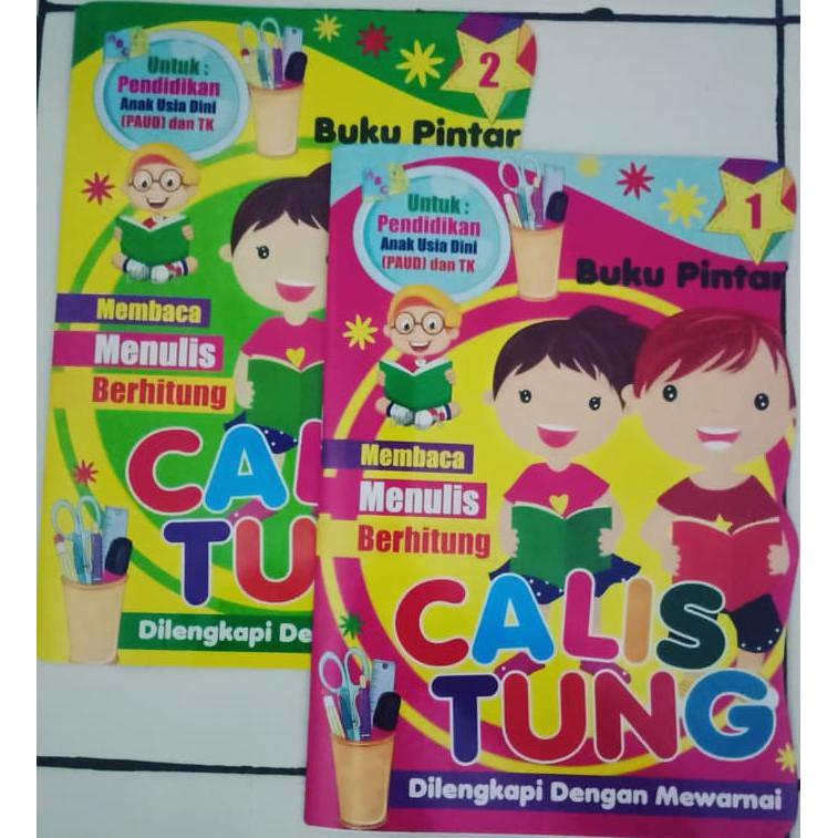 Buku Jendela Dunia Buku Pintar Calistung Untuk Anak Paud Dan Tk