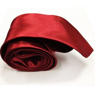 VM Dasi Polos Slim Merah Maroon - slim Tie - Dasi kerja -