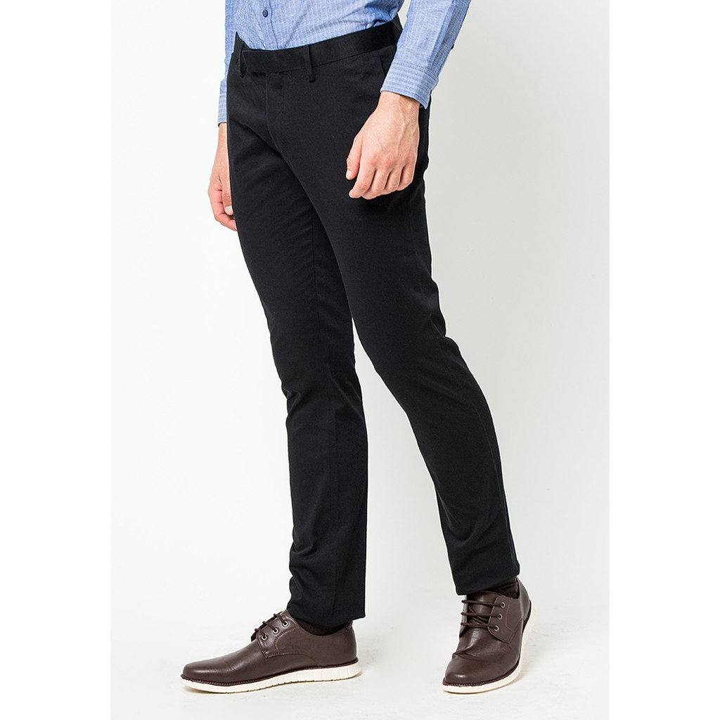 Long Pants 1 Lprbsc516o006 Black Shopee Indonesia Tendencies Rigid Quarter Chinos Hitam 28